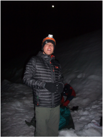 Kevin Clark on Mt Shasta 2015
